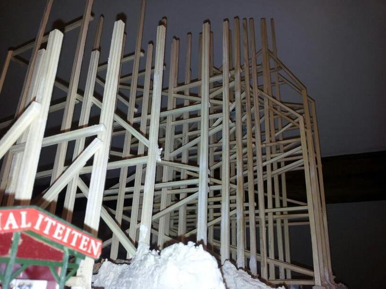 le chantier prend de la hauteur.