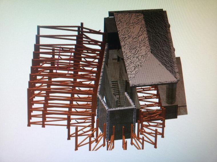 la gare version 3D