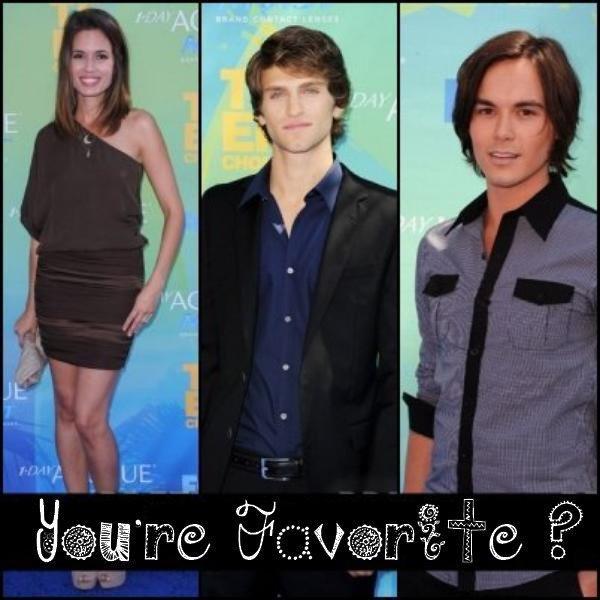 Les acteurs de PLL au Teen Choice Awards