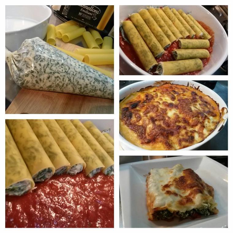 Cannelloni épinards ricotta