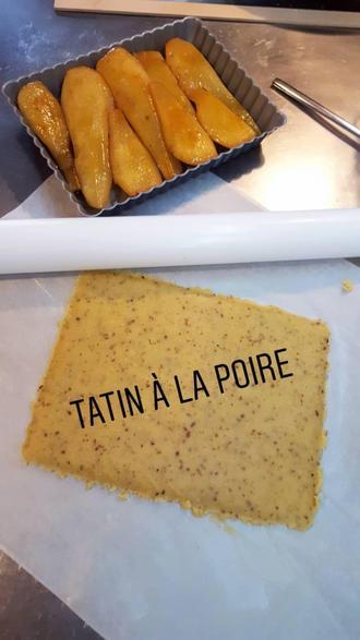 Tatin de poire