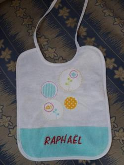 Bavoir Raphaël
