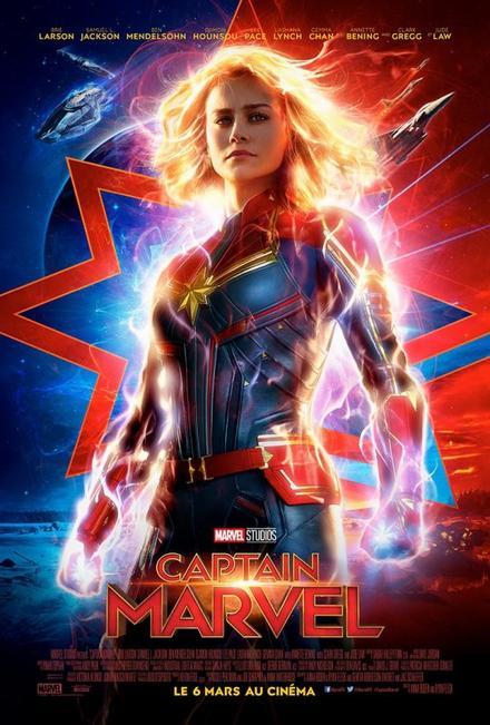 Captain Marvel (vue le 12/07/19)