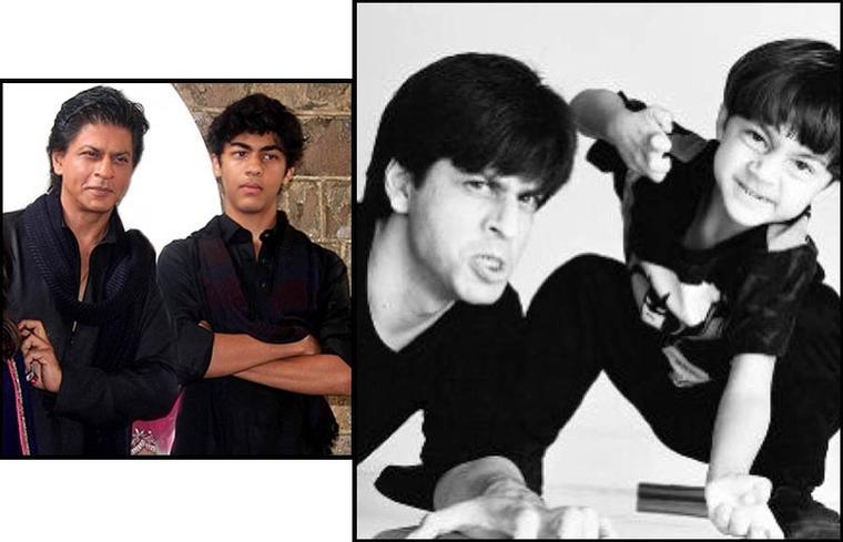 Shahrukh Khan avec son fils Aryan