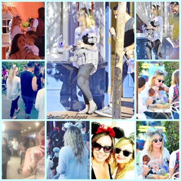 Demi à Disneyland + des photos perso de Demi et Zendaya !!