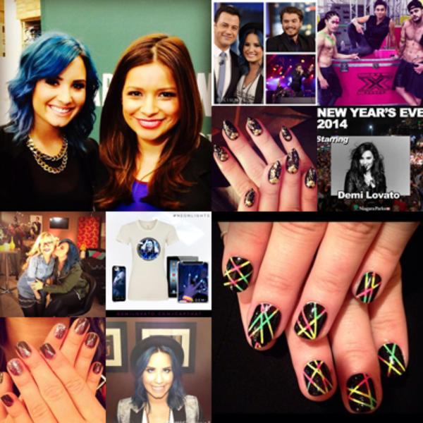"""LE 23/11 - Demi s'est rendu dans la librairie Barney & Nobles à Los Angeles pour la séance de dédicace de son livre """" Staying Strong """" !!"""