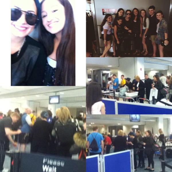 LE 19/12 - Demi a été vu quittant une fête à Los Angeles !!