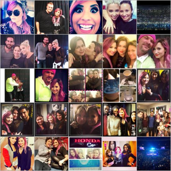 LE 17/02 et le 19/02 - Demi a fait un concert à Grand Prairie au Texas et à Houston aussi au Texas !!