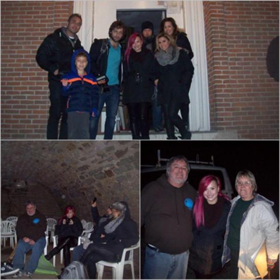 LE 19/03 - Demi c'est rendue dans la maison McPike pour faire une chasse aux fantômes !!