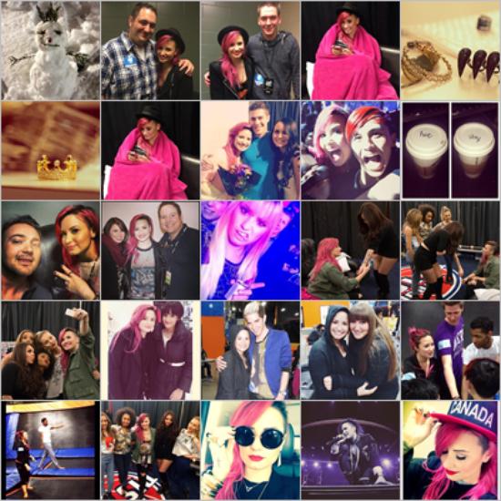 LE 27/03 - Demi a fait un concert à Cleveland !