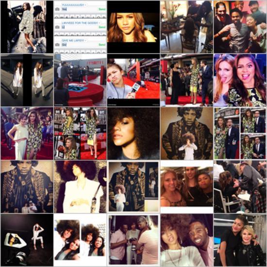 LE 12/04 - Zendaya s'est rendu au répétition des MTV Movie Awards à Los Angeles !!
