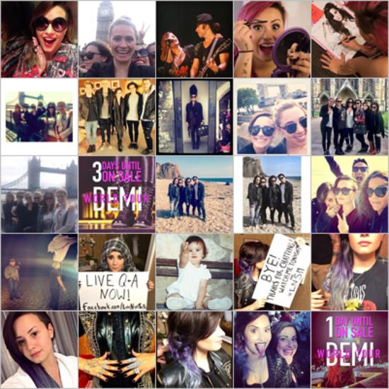 LE 29/05 - Demi a été vu se promenant dans Londres avec ses amies !!