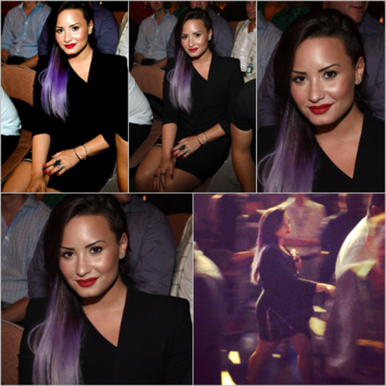 Le 29/06 - Demi a été vu quittant son hôtel à New York. Dans la soirée elle est sortie de son hôtel pour aller voir ses fans ensuite elle est aller ce préparer pour se rendre à la NYC Pride Dance On The Pier !!