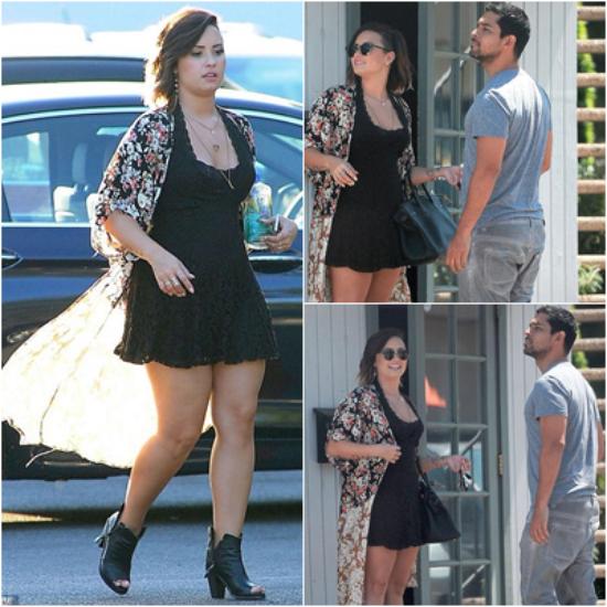 LE 16/08 - Demi a été vu quittant son hôtel à New York et plus tard dans la journée elle a été vu arrivant à l'aéroport LAX à Los Angeles !!