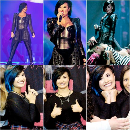 LE 25/09 - Demi a fait un concert à Denver dans le Colorado!