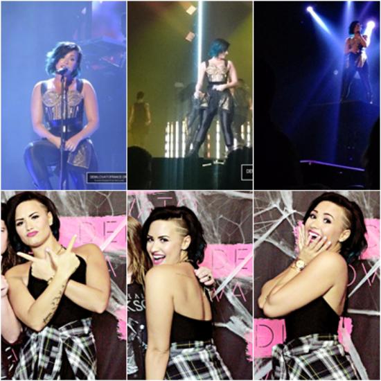 LE 05/10 - Demi a fait un concert à Calgary au Canada!
