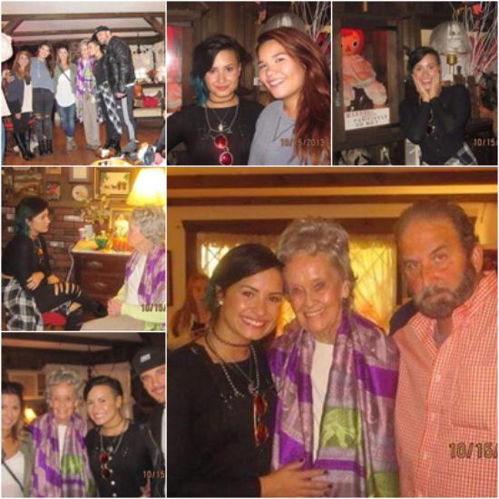 LE 16/10 - Demi et sa famille sont aller visiter la maison de Lorraine Warren dans le Connecticut!