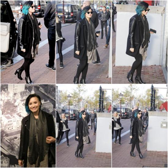 LE 16/11 - Demi a commencé sa tournée européenne à Istanbul en Turquie!