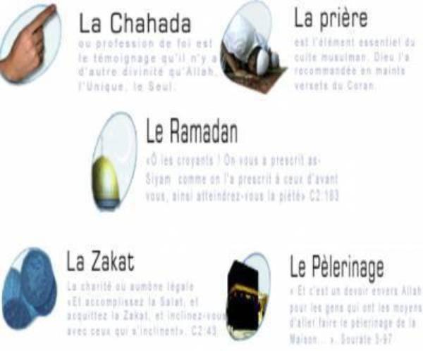 Les 5 pilliers de l'Islam