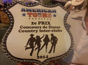 """Festival de Tours """" AMERICAN TOURS 2014 """" .....Concours de danses et danse des French Familly  : 1 er du concours de Voghéra 2014 ........N°3"""
