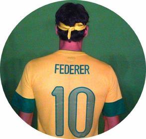 Roger sous les couleurs de la Seleçao