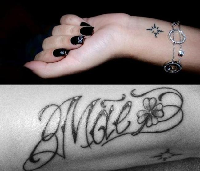 Real Chanty's tattoo