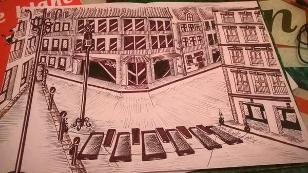 Les dessins de l'une de mes amis