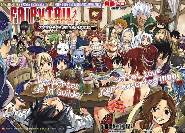 Fairy Tail LA FIN D'UN VOYAGE