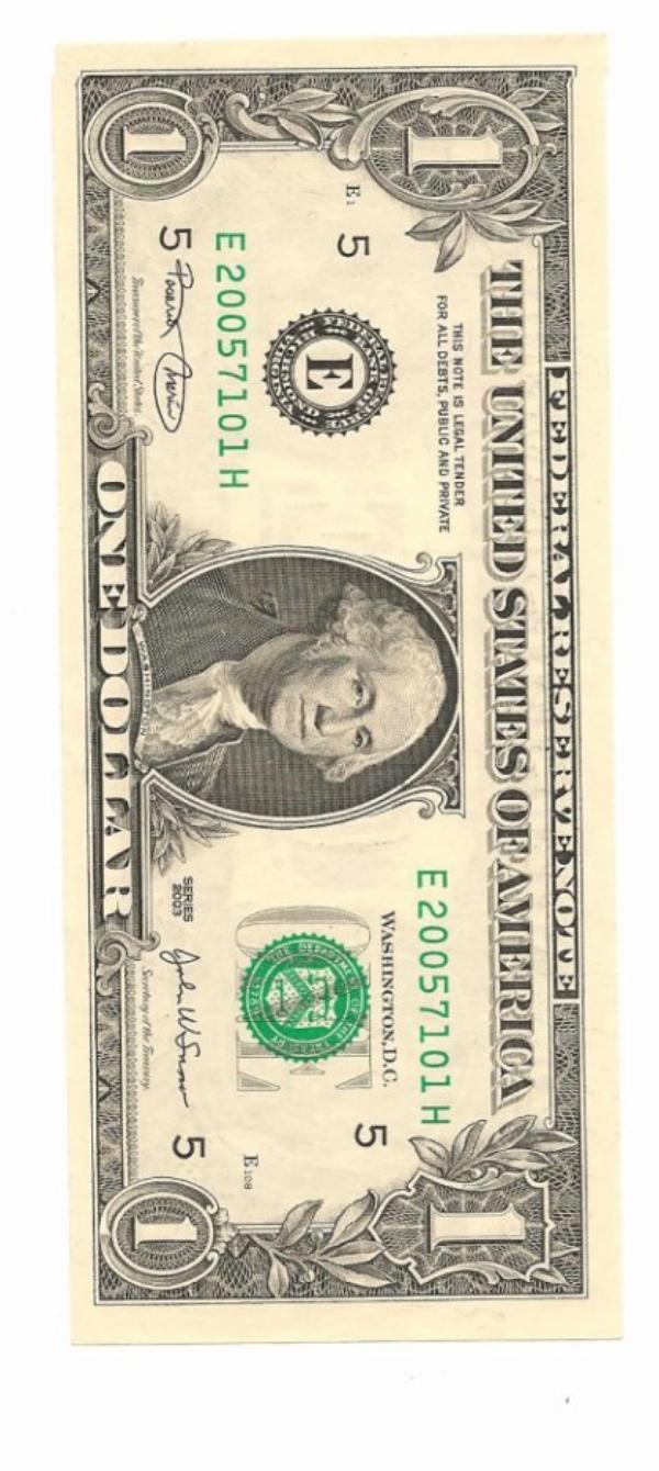 Mes premiers dollar quand j'étais petite ==My first dollar when I was little