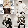 GaGa fera la couverture du prochain Elle US (celui de janvier). En attendant voici un aperçu de son photoshoot !