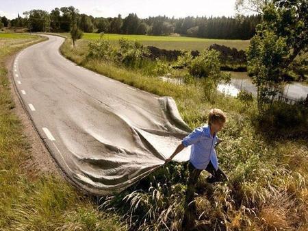 Follow your way ...