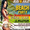 ********* JEUDI 16 JUILLET *********** BEACH PARTY *******************