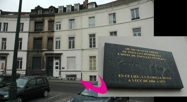 La maison Hugo, place des Barricades (BXL)