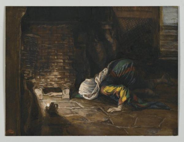 La femme et la drachme perdue (Luc 15, 8-10)