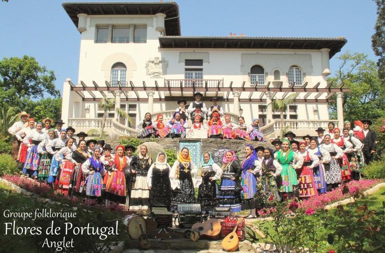Groupe folklorique portugais Flores de Portugal d'Anglet (France)