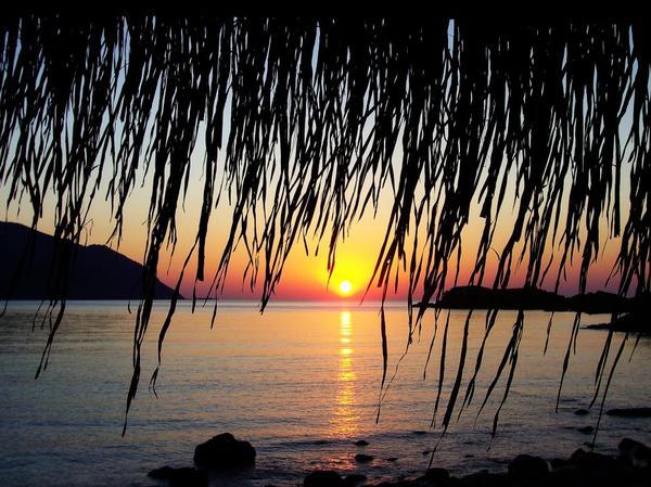 magnifique coucher de soleil!