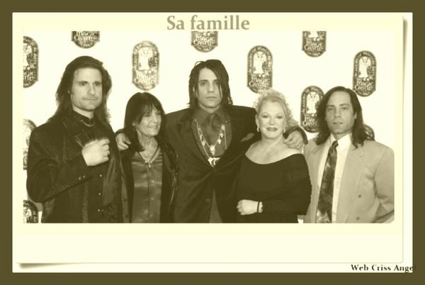 La famille de Criss Angel