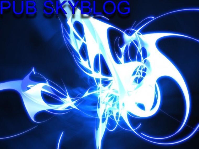 Sommaire: Pub Skyblog