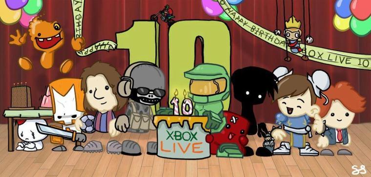 Xbox live à 10 ans !