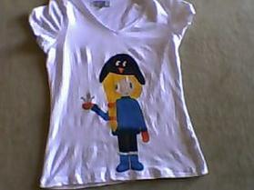 vente de t-shirt