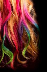 Le hair chalking