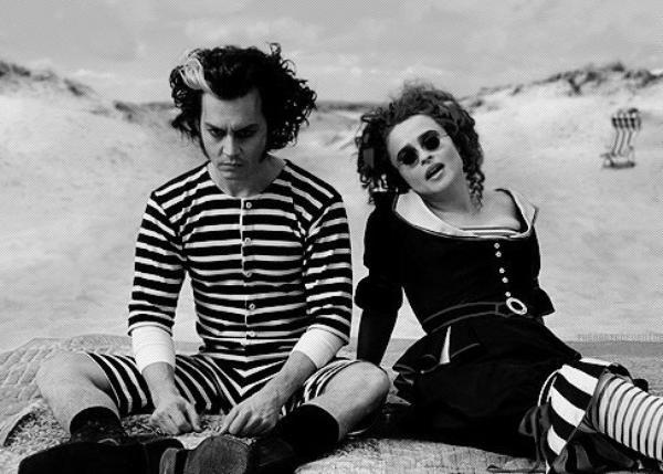 Johnny & Helena Bonham Carter .