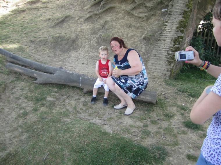 corentin avec maman