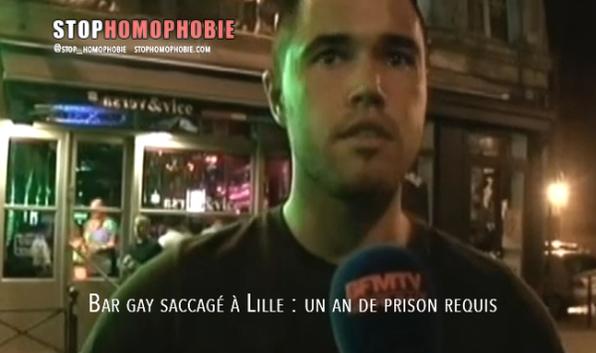 Bar gay saccagé à Lille : un an de prison requis