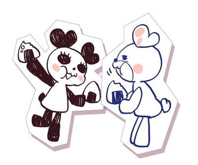 Chansons des pandas: あったかいんだからぁ et  Daisanji Purin Sensou