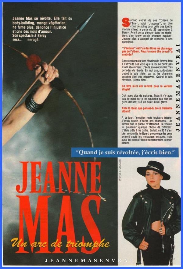"""1989 - 2019 - L'album """"LES CRISES DE L'AME"""" a 30 ans !- Episode 15 La promo... dans la presse Période """"J'accuse"""" (suite)"""