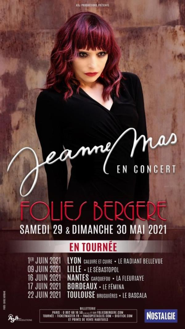 News - Jeanne en tournée en juin 2021