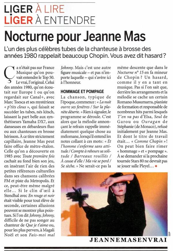 """News presse - Article dans le """"CLASSICA"""" du mois de mars 2021 le magazine de référence de la musique classique"""