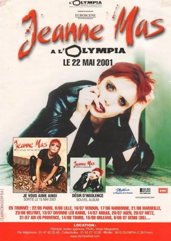 20ème ANNIVERSAIRE DE L OLYMPIA 2001