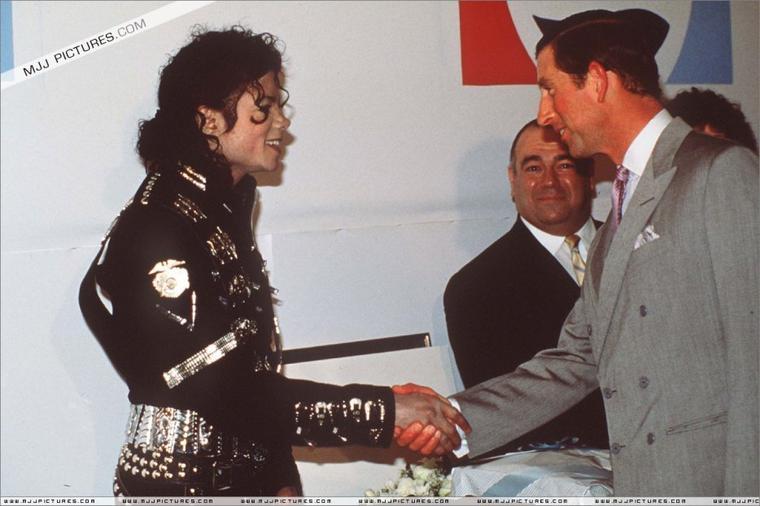 Meeting Princess Diana & Prince Charles-1988
